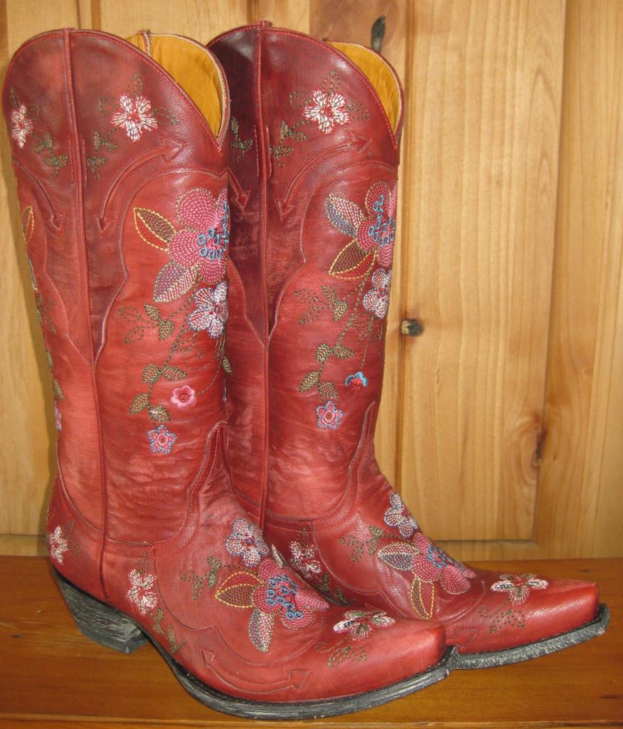 Old Gringo Bonnie Red Boots L649-3 Left