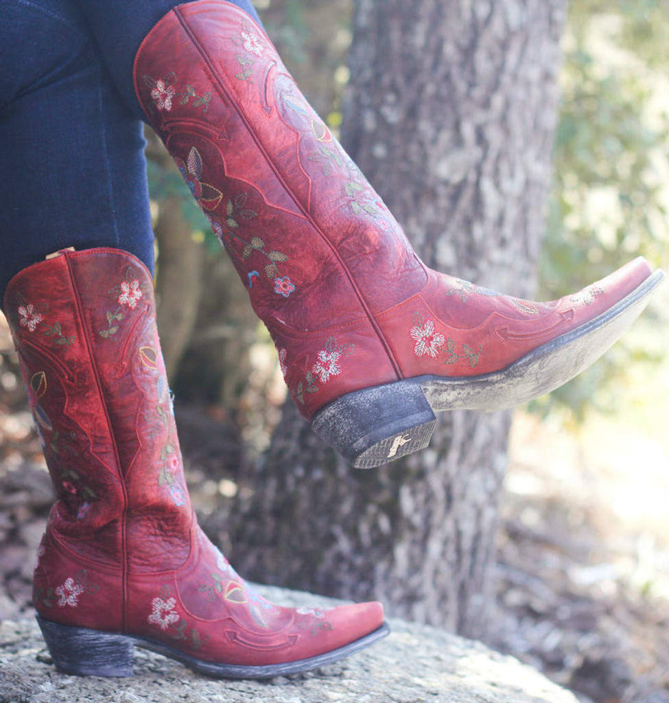 Old Gringo Bonnie Red Boots L649-3 Picture