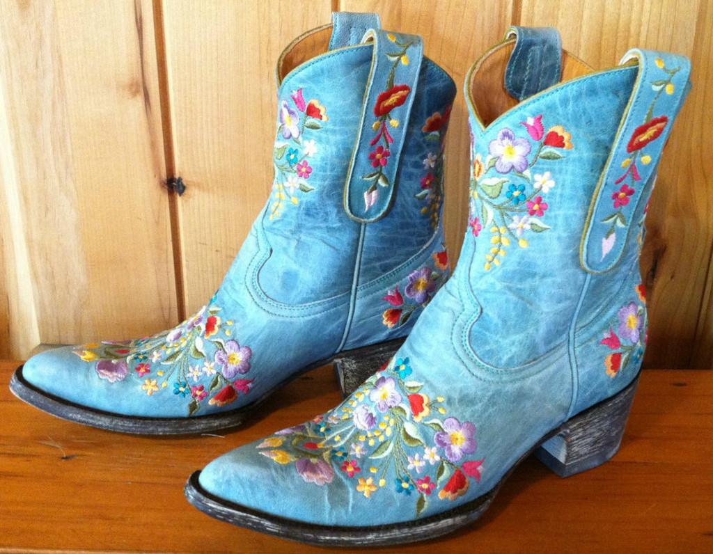 Old Gringo Sora Aqua Boots L841-8 Left