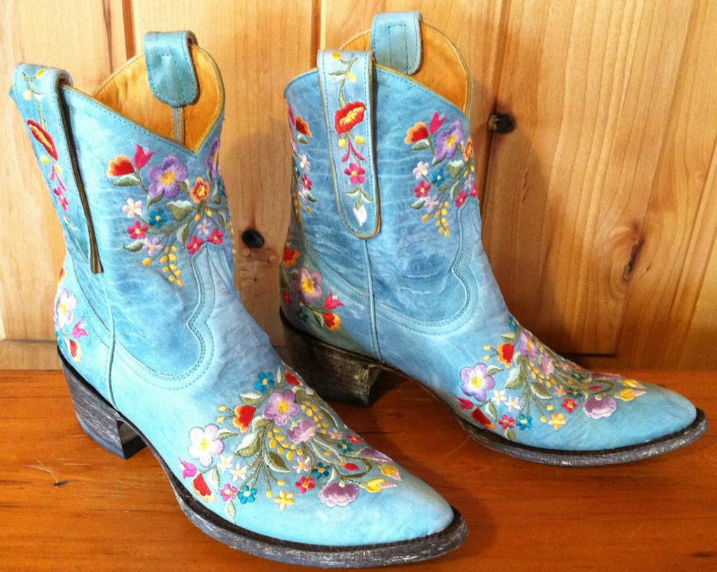 Old Gringo Sora Aqua Boots L841-8 Right