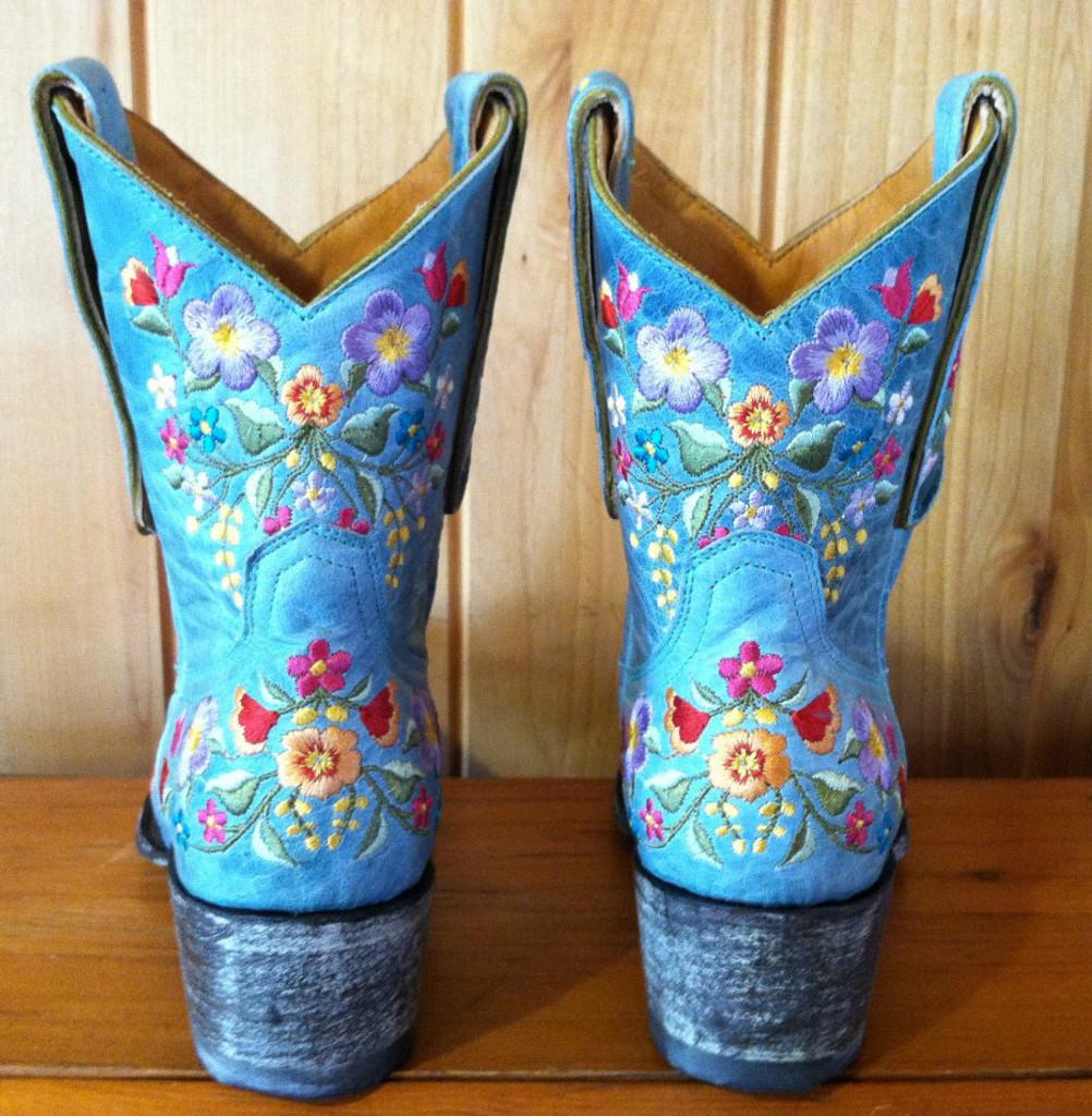 Old Gringo Sora Aqua Boots L841-8 Back