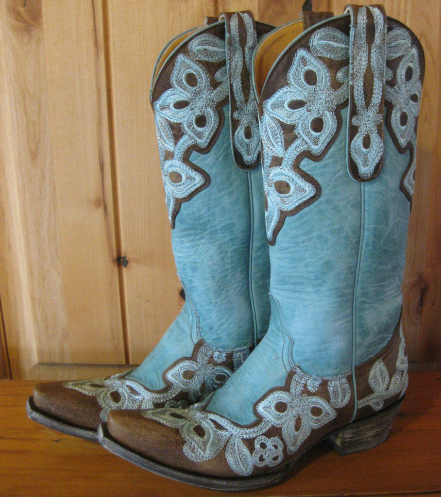 Old Gringo Marrione Aqua Boots L836-1 Image