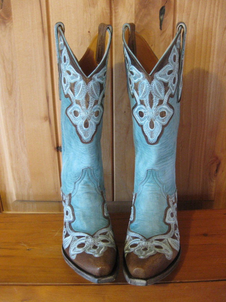 Old Gringo Marrione Aqua Boots L836-1 Front