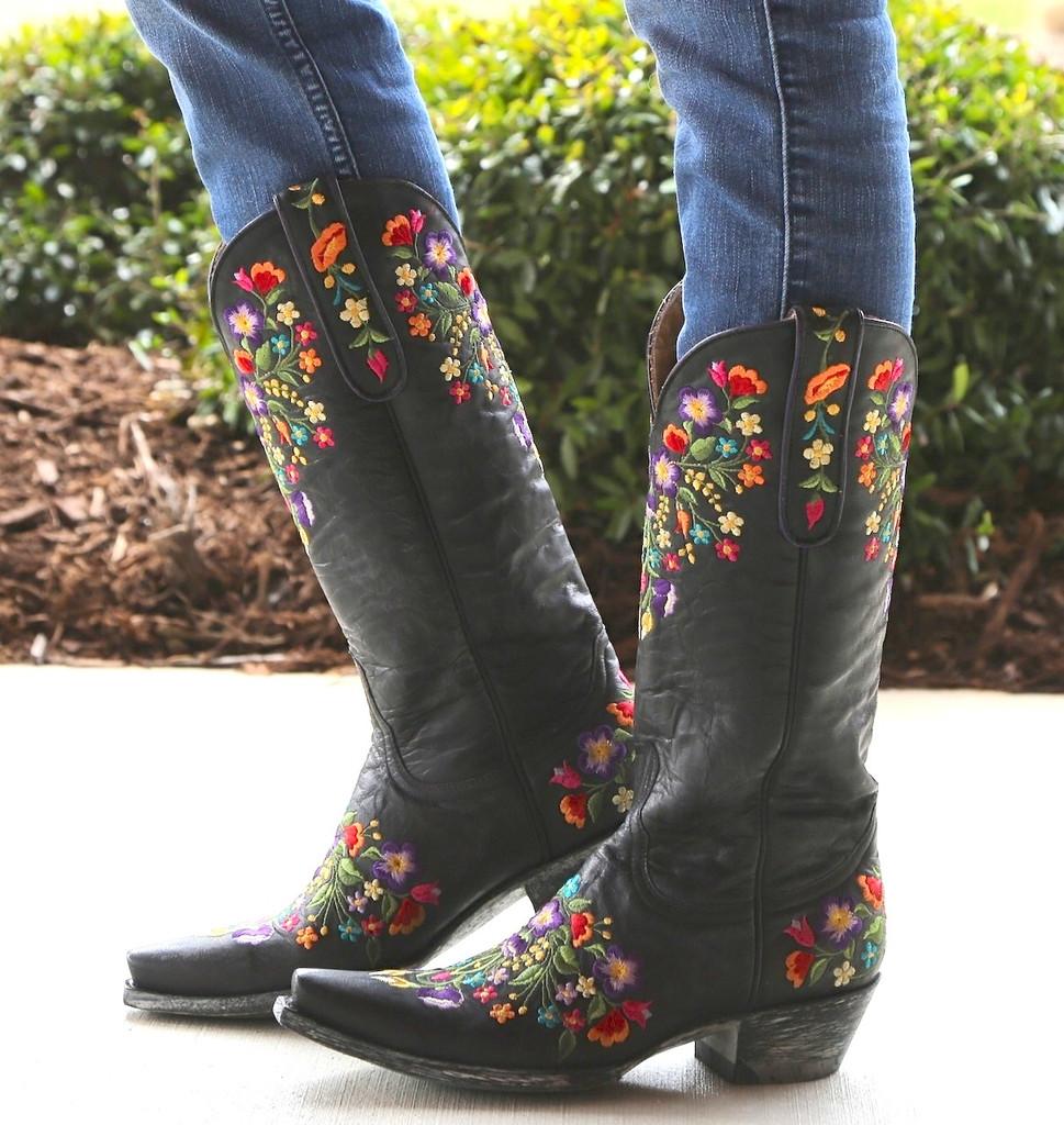 Old Gringo Sora Black 13 Inch Boots