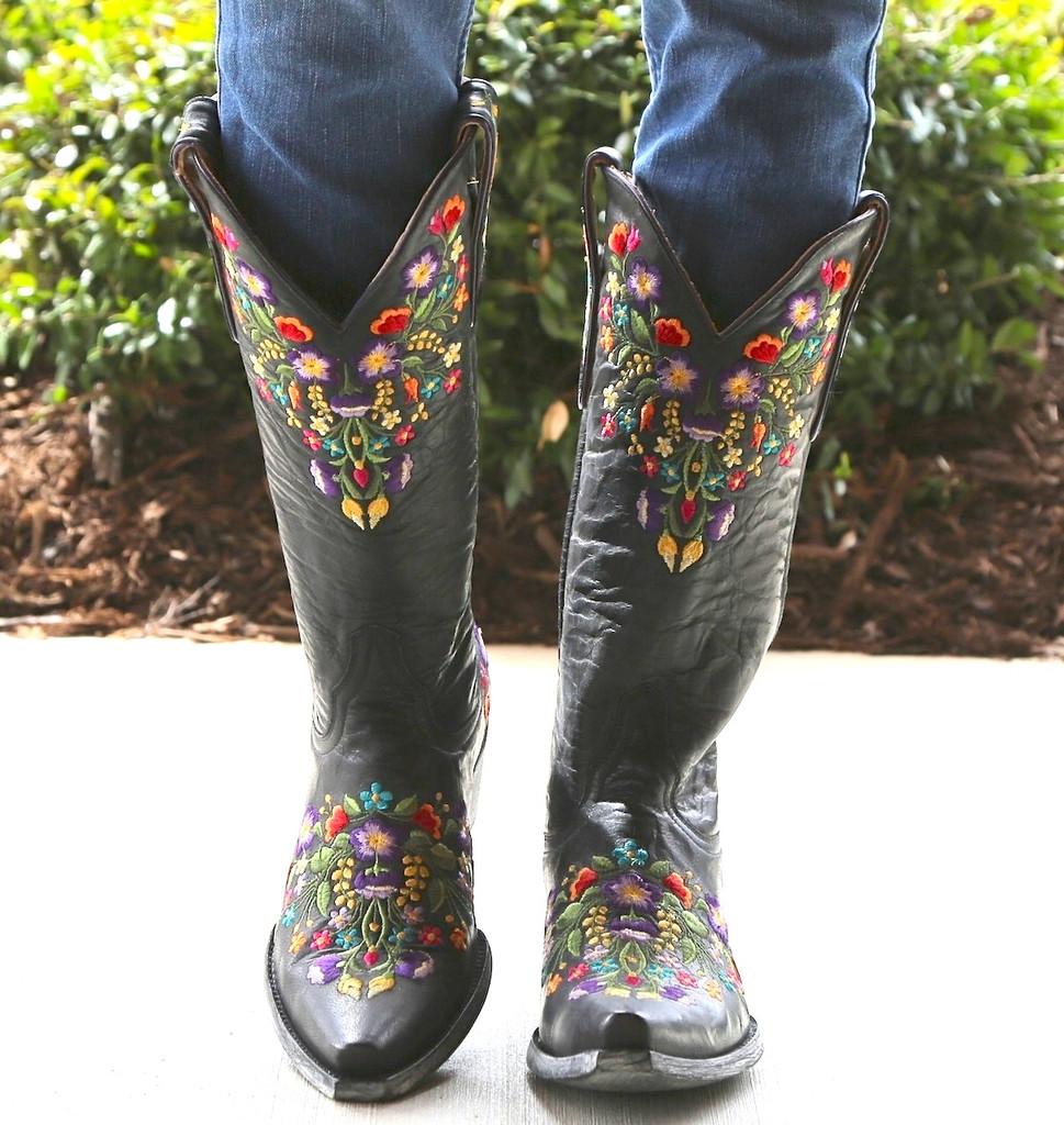 Old Gringo Sora Black Boots