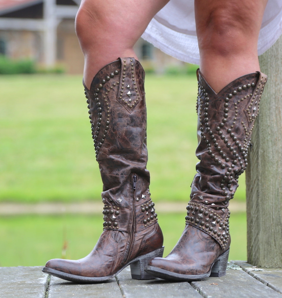 Old Gringo Belinda Chocolate Boots L903-8 Picture