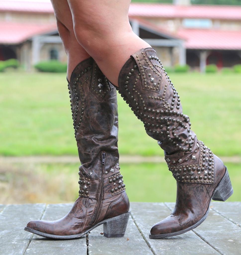 Old Gringo Belinda Chocolate Boots L903-8 Photo