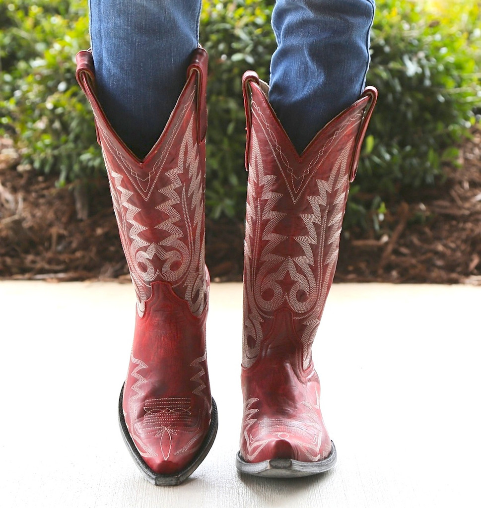 Old Gringo Nevada Red Boot Image