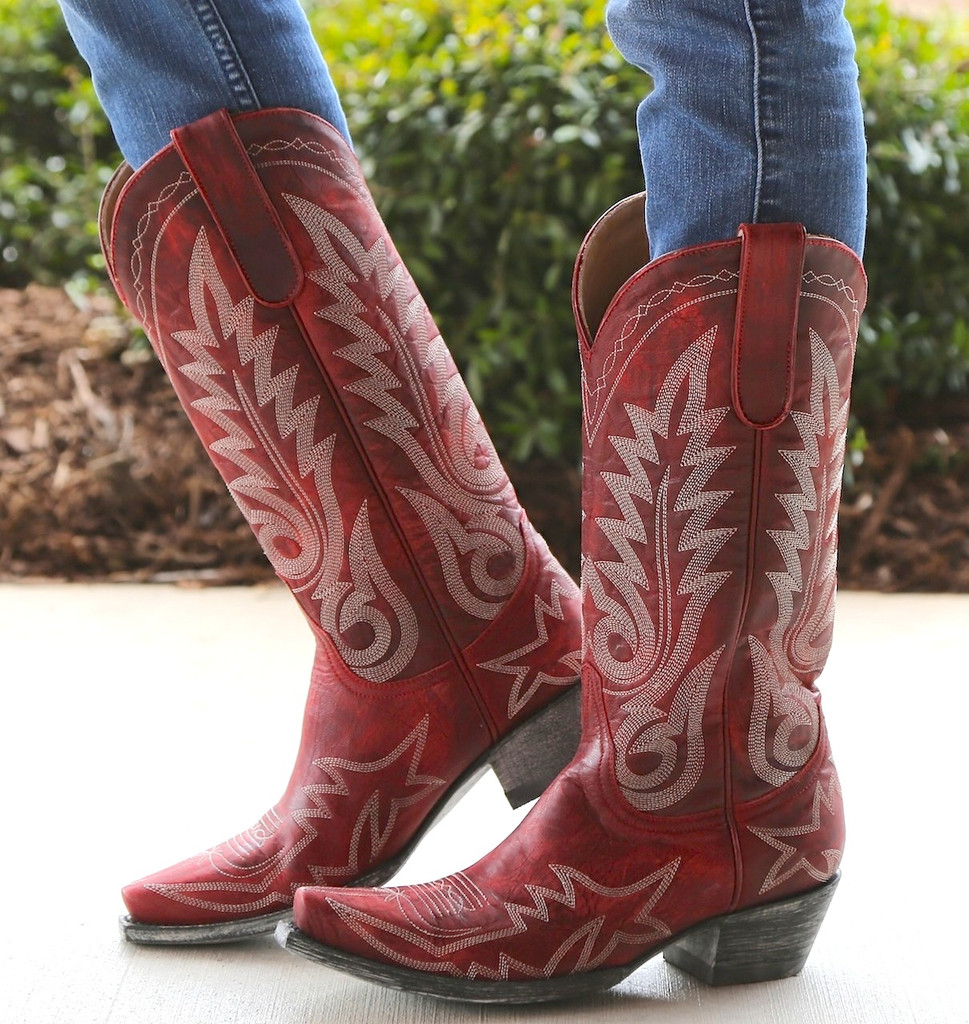 Old Gringo Nevada Red Boots L175-262 Picture