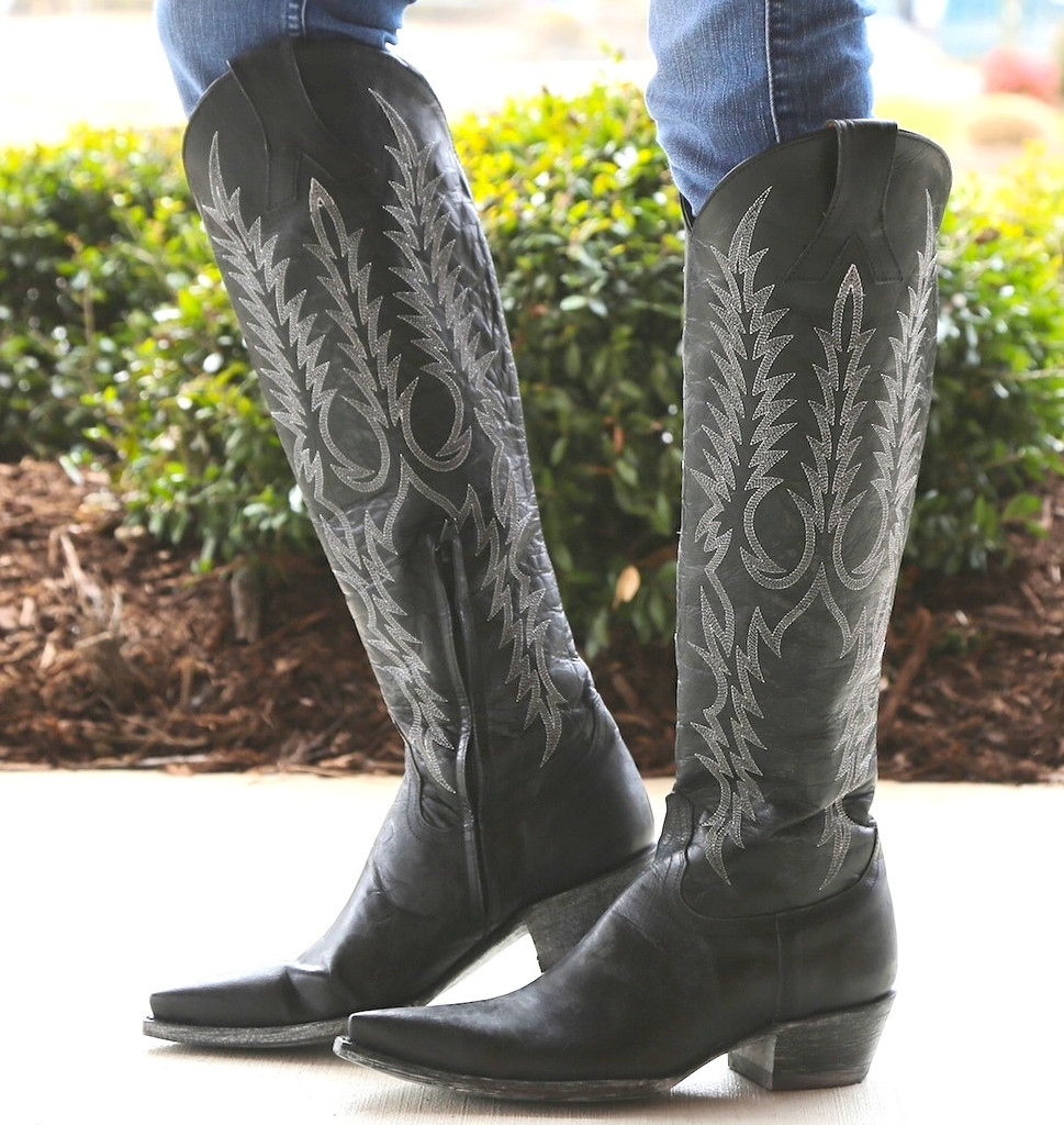Old Gringo Mayra Black Boots L601-2 Picture