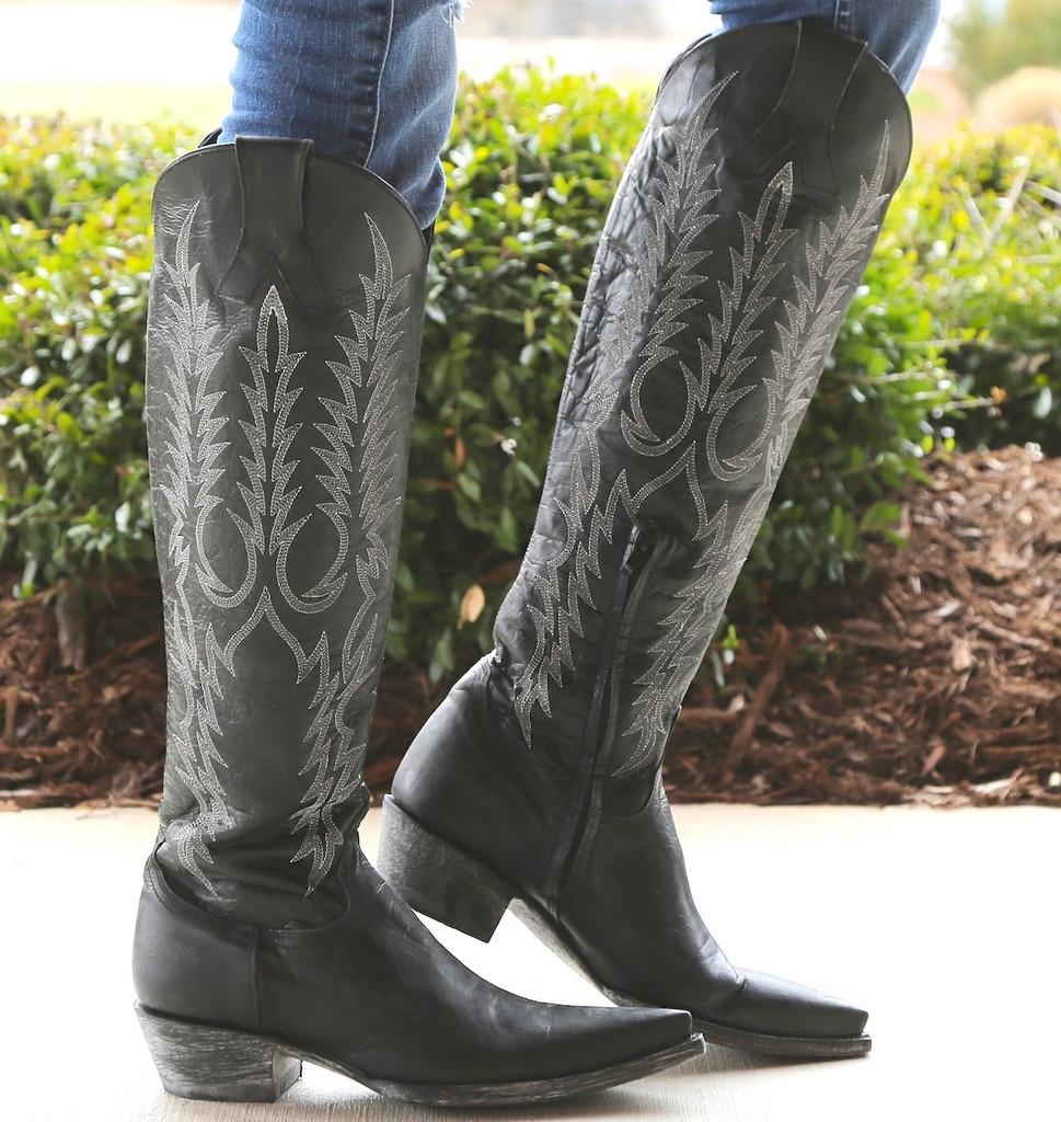 Old Gringo Mayra Black Boots Image