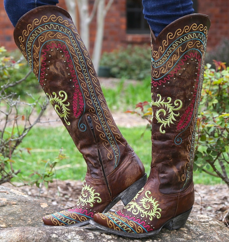 Old Gringo Gaban Brass Boots L929-2 Picture