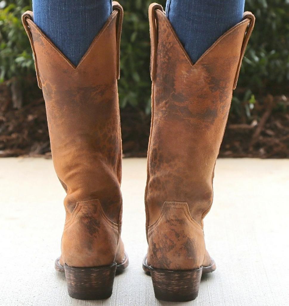 "Old Gringo Leopardito 13"" Boots L168-1 Heel"