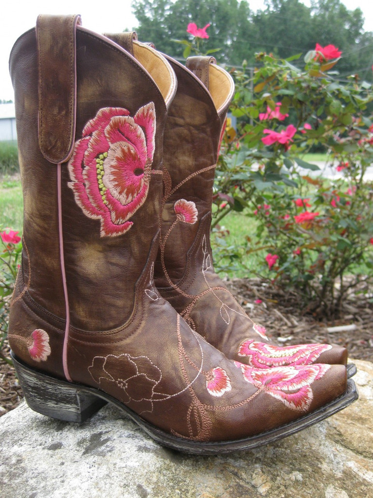 Old Gringo Marsha Pink Rose Boots Picture