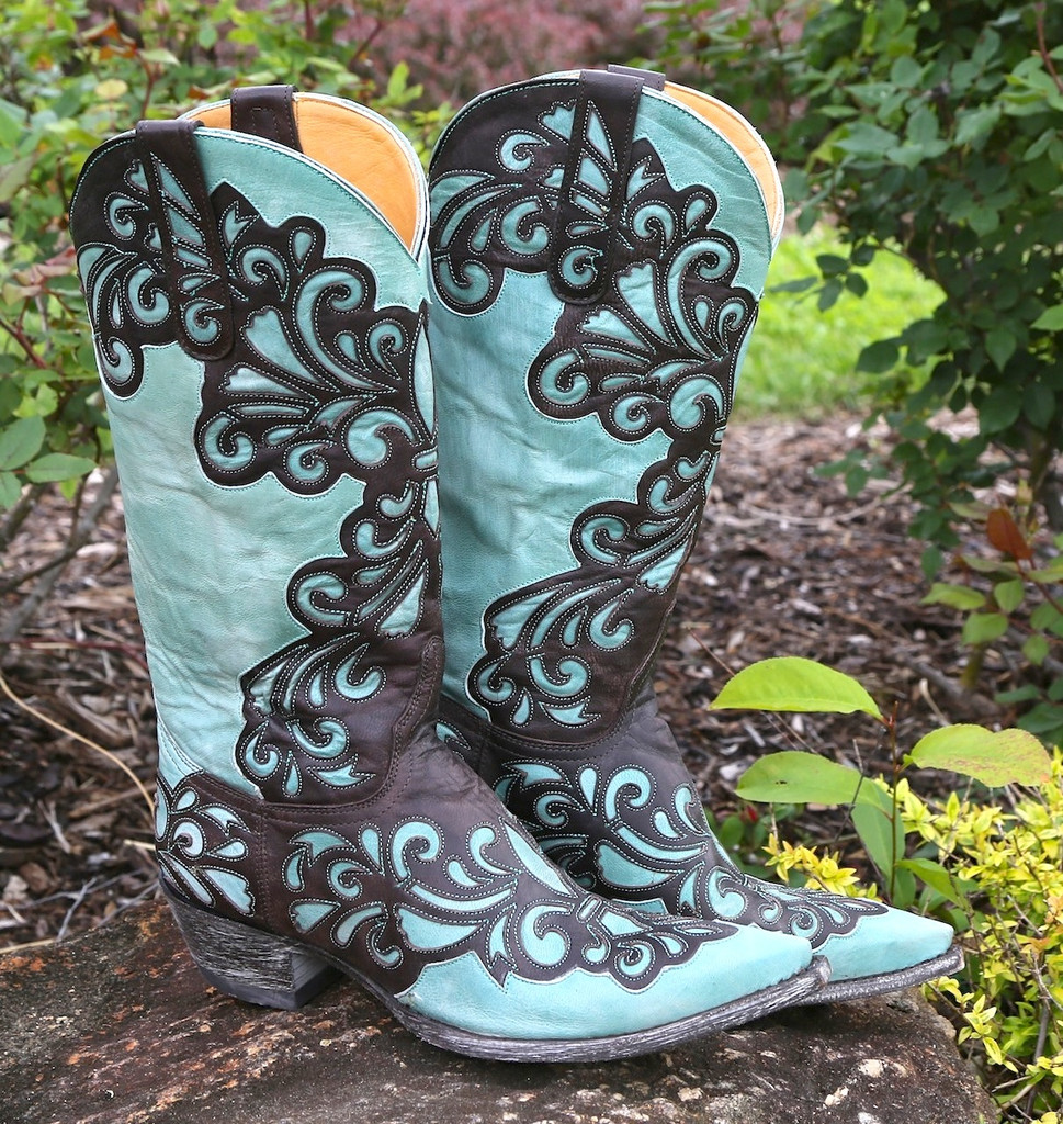 Old Gringo Linda Chocolate Boots L1025-1 Picture