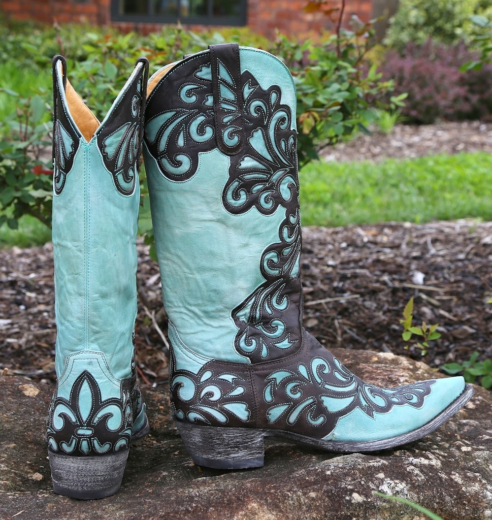 Old Gringo Linda Chocolate Boots L1025-1 Heel