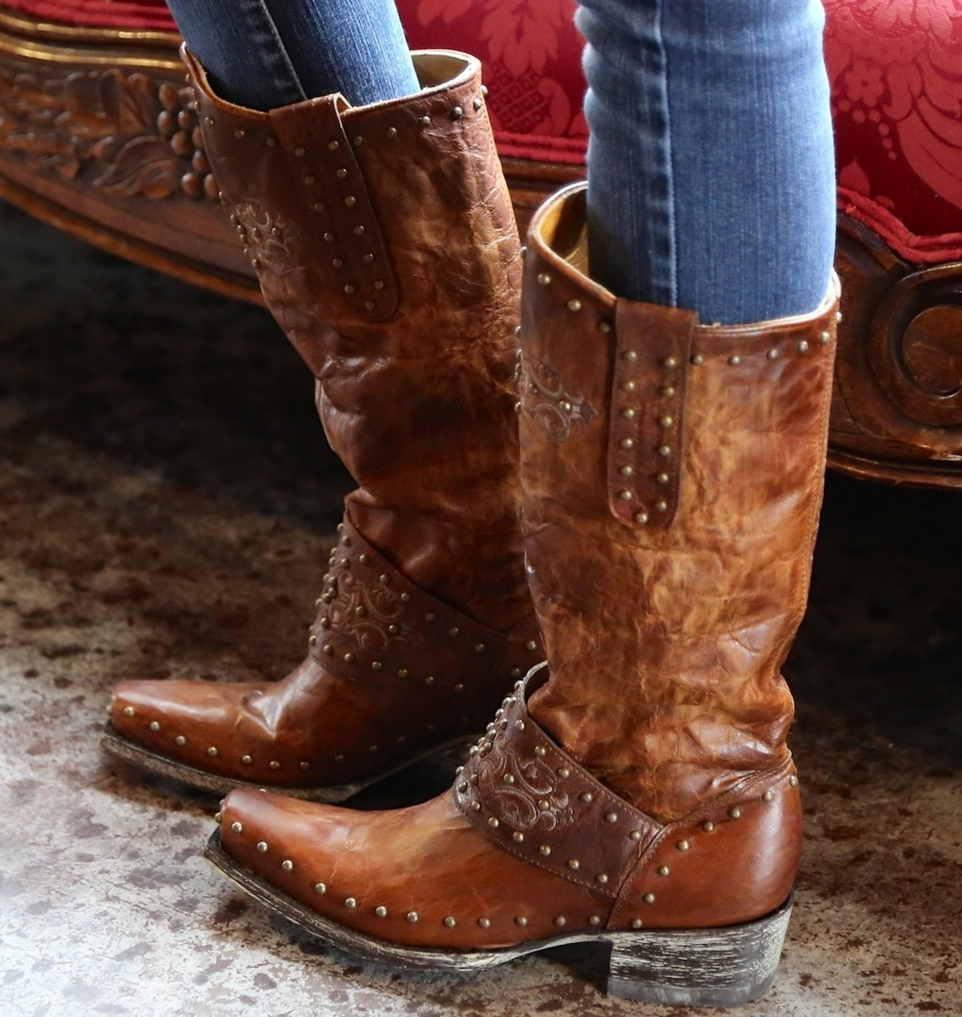 6975a448fb1 Old Gringo Krusts Boots Brown L1295-3