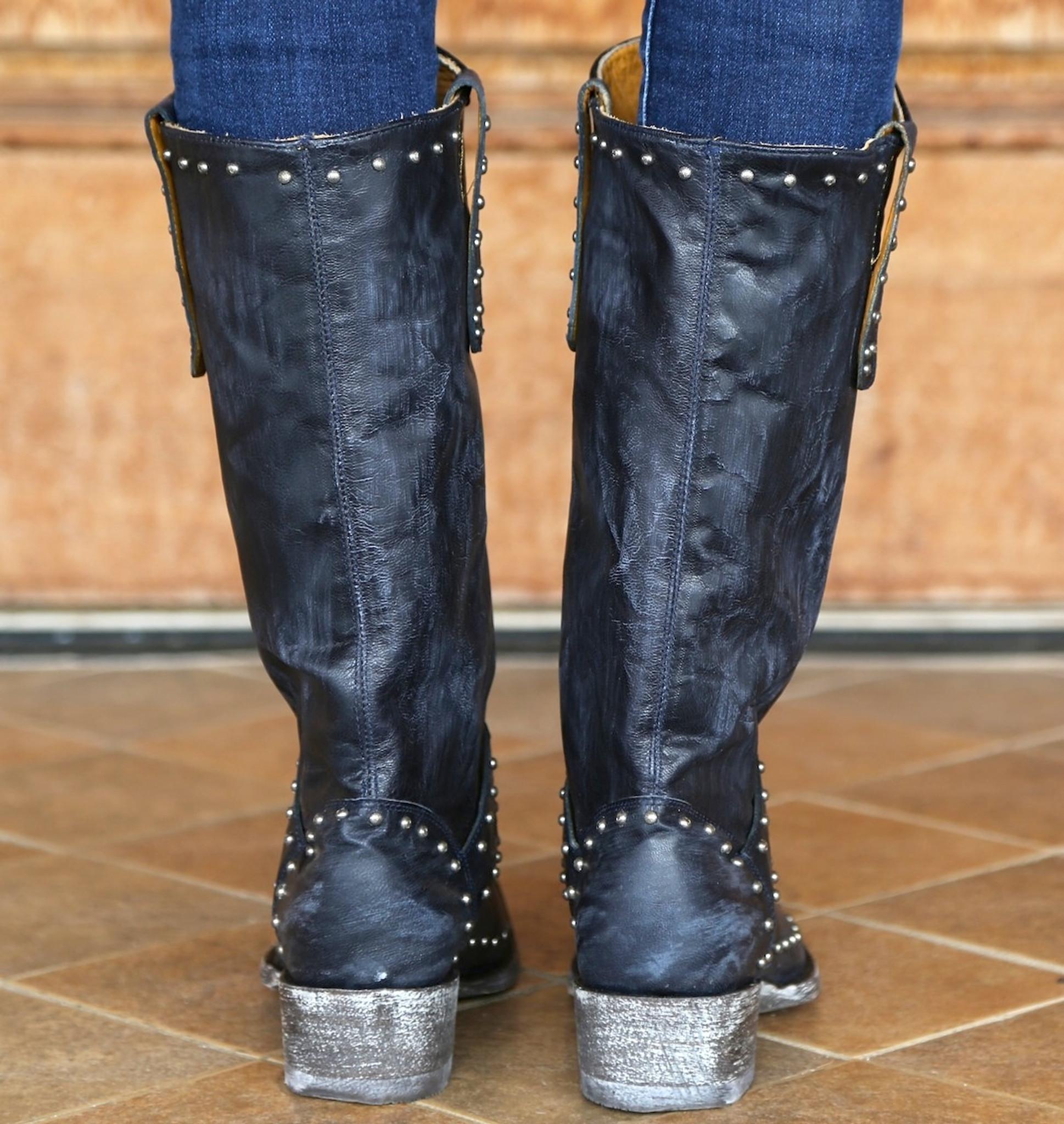 1d8ebb1bebc Old Gringo Krusts Boots Blue L1295-1