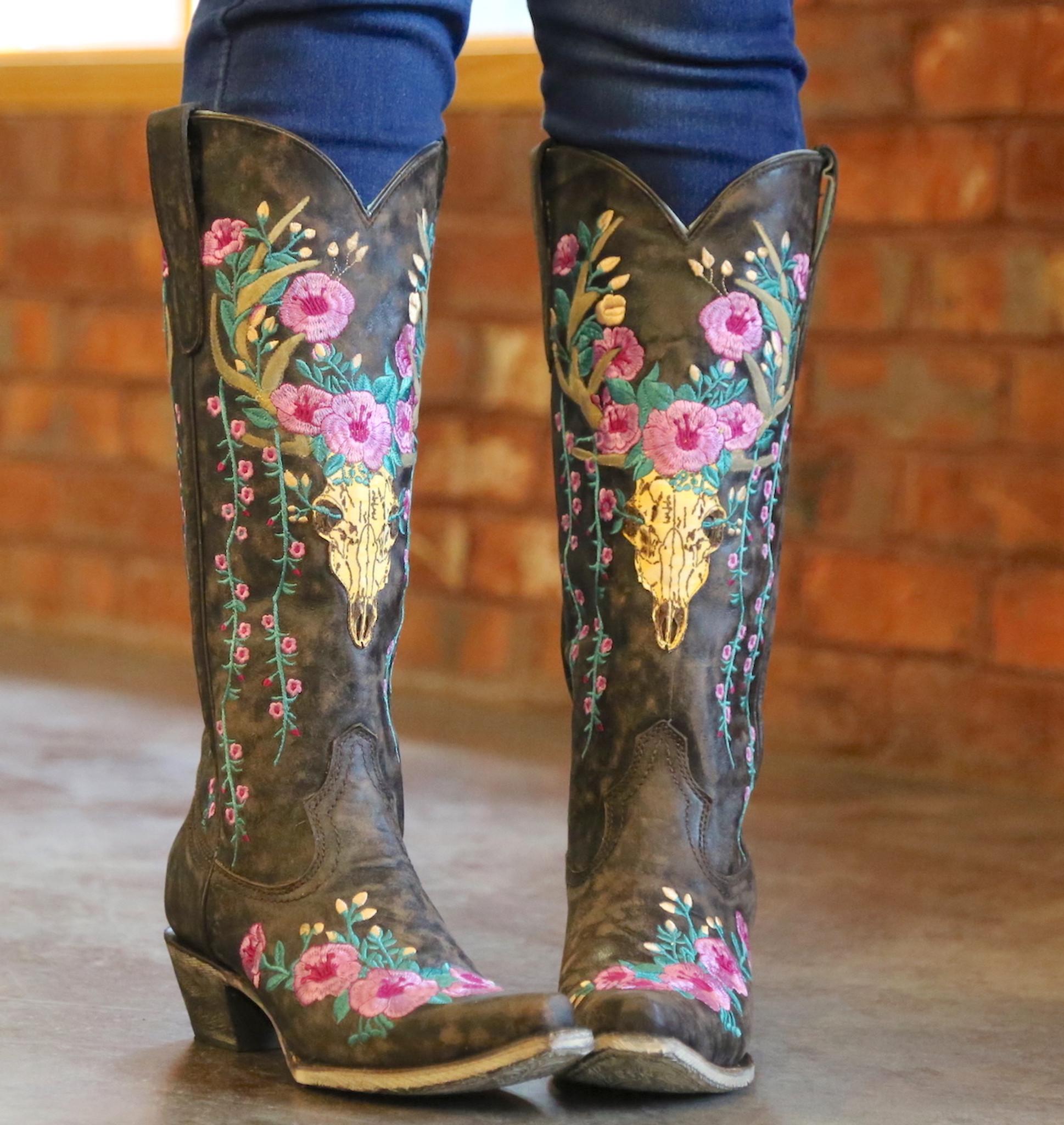 corral skull boots