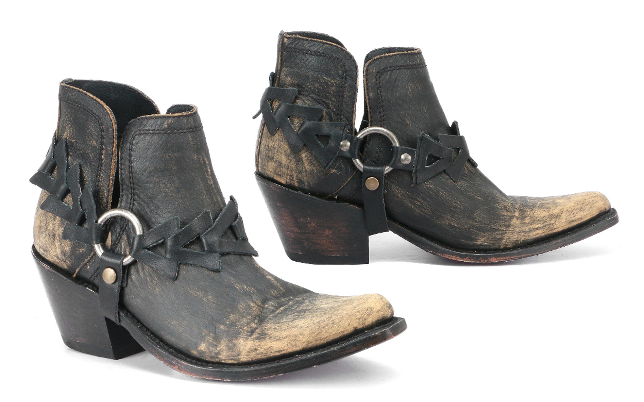 liberty black booties