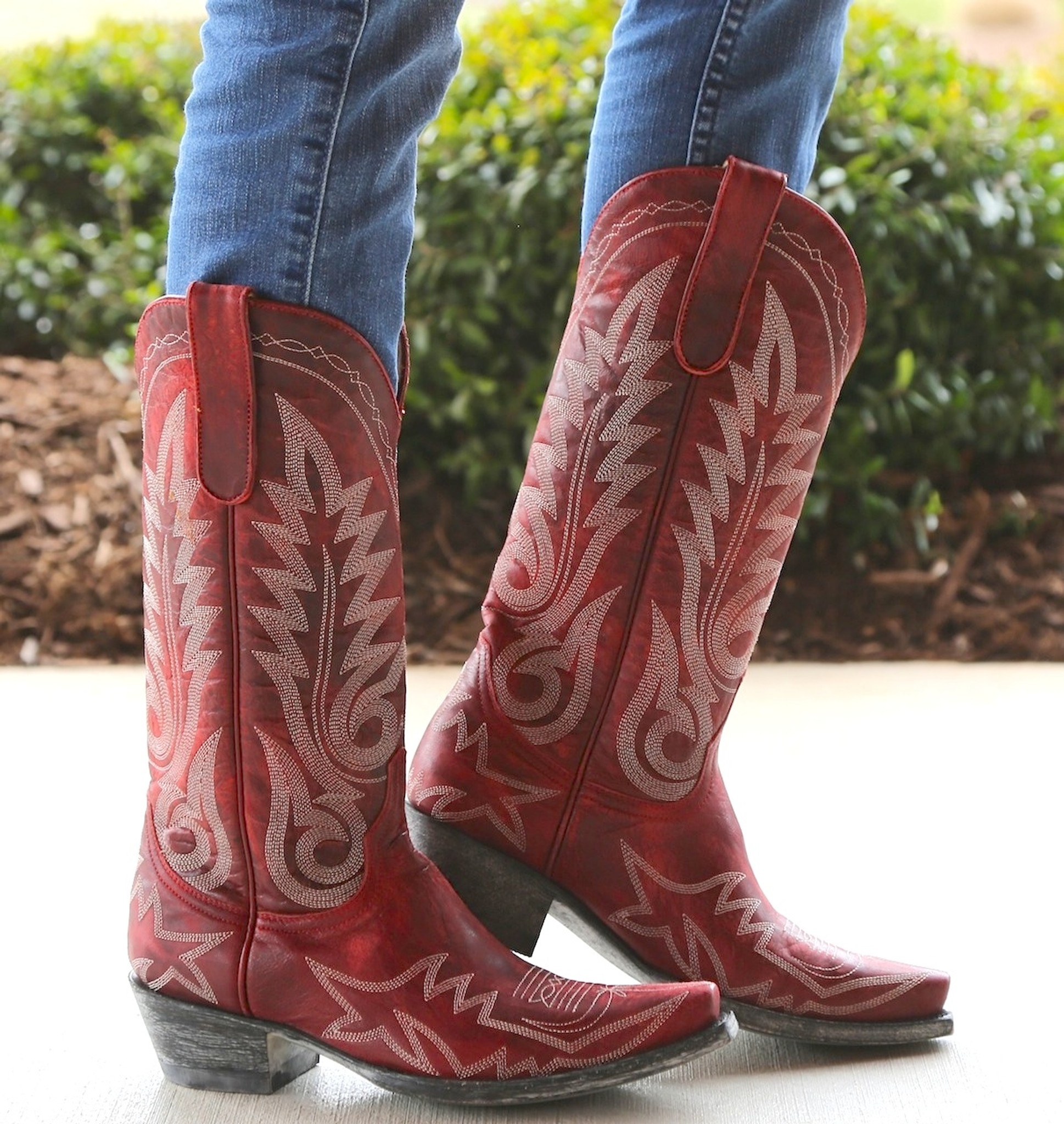red cowgirl boots footloose