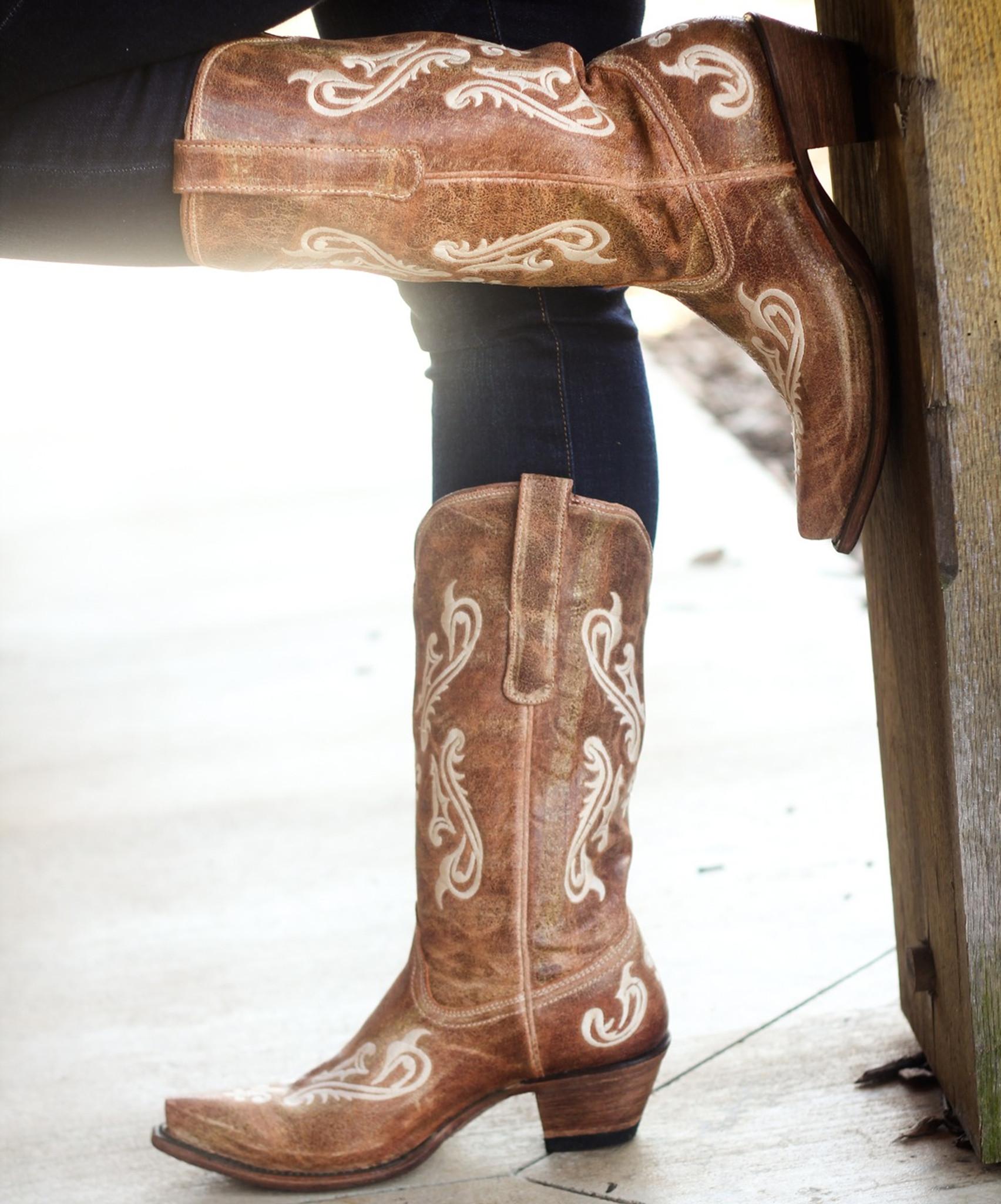 992b7ba0ca7 Corral Honey Cortez Boots R1974