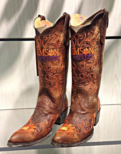 Gameday Clemson Tigers Women's Boots