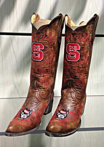 Gameday North Carolina State University Wolfpack Women's Boots NCS-L052-1