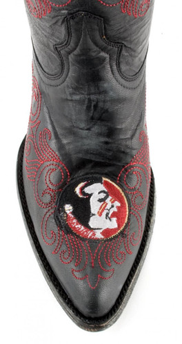 Gameday Florida State Boots Toe