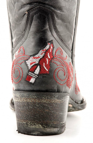 Gameday Florida State Boots Heel