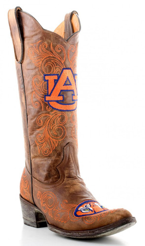 Gameday Auburn Boots Main