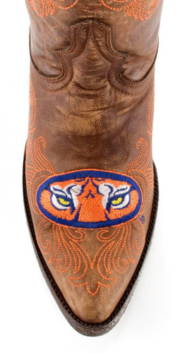 Gameday Auburn Boots Toe