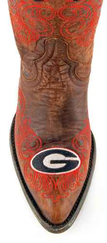 Gameday Georgia Boots Toe