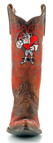 Gameday Georgia Boots Front