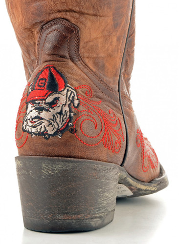 Gameday Georgia Boots Heel