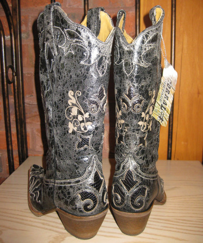 Corral Cowgirl Boots C2108 Back Picture