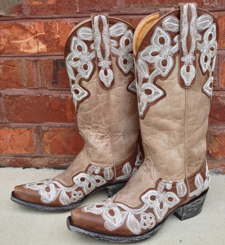 Old Gringo Marrione Oryx Bone Boot L836-7