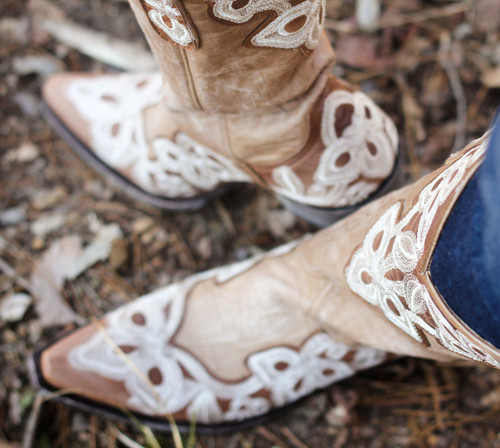 Old Gringo Marrione Oryx Bone Boots L836-7