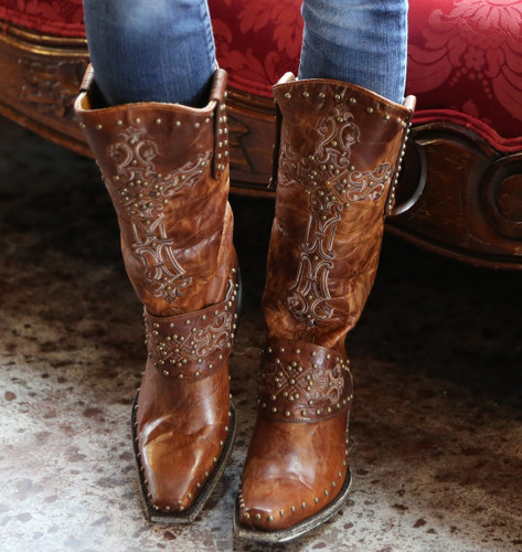 Old Gringo Krusts Boot Brown L1295-3
