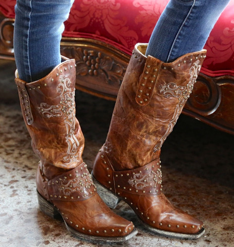 Old Gringo Krusts Boots Brown L1295-3 Picture