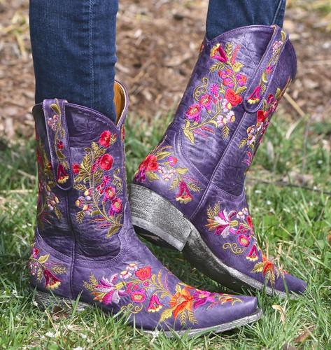Old Gringo Jasmine Violet Boots L1286-14 Image