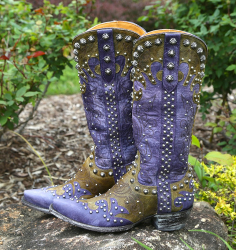 Old Gringo Raelene Purple Boots L1244-4 Picture