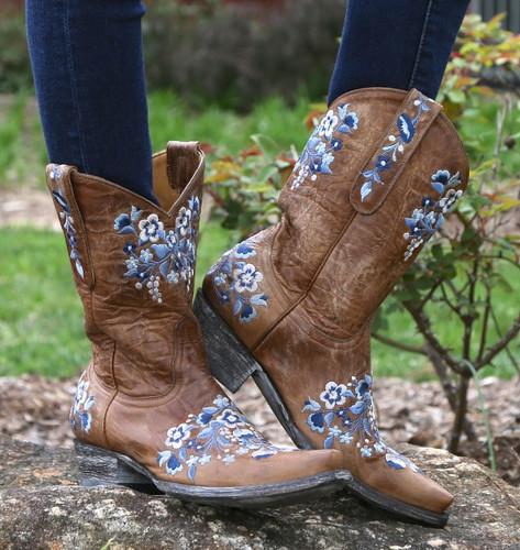 Old Gringo Sora Oryx & Blue Boots L841-19 Picture