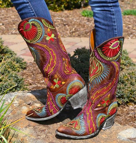 Old Gringo Tiegan Boots L1371-6 Photo