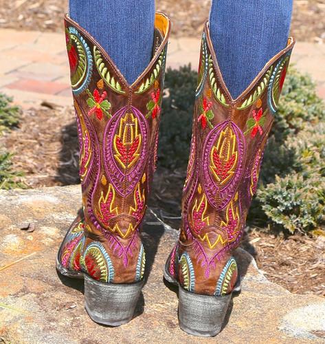 Old Gringo Tiegan Boots L1371-6 Heel