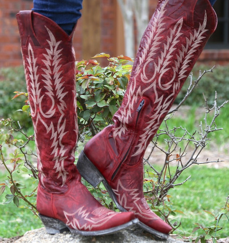 Old Gringo Mayra Red Boot L1213-1 Image