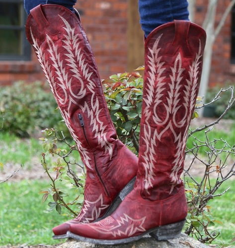 Old Gringo Mayra Red Boots L1213-1 Picture