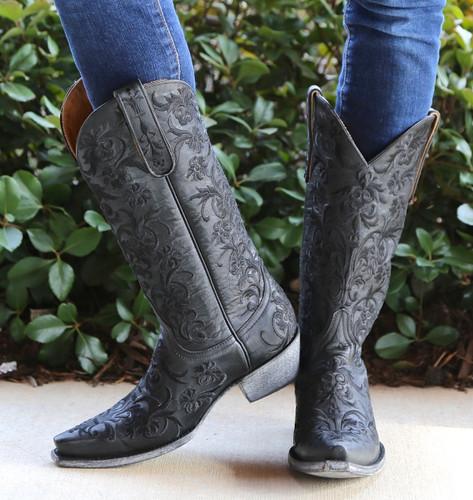 Old Gringo Clarise Black Boots L1266-5 Image
