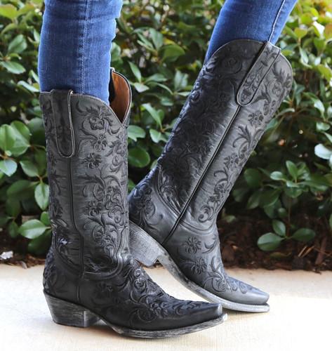 Old Gringo Clarise Black Boots L1266-5