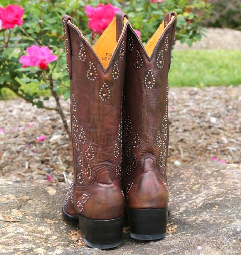 Old Gringo Asara Rust Boots L1195-1 Heel